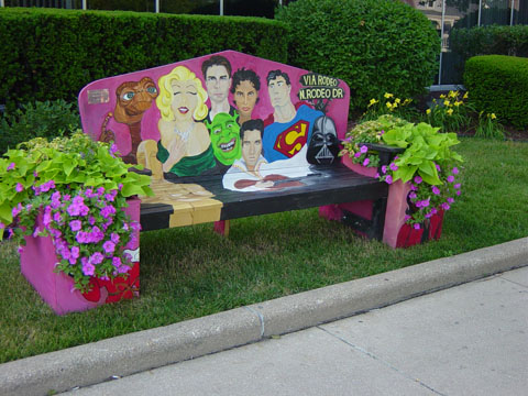 Dr.Yemonja Smalls/Benches on the Ave
